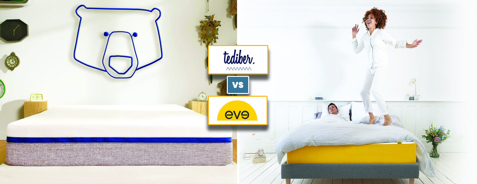 Comparatif Tediber vs Eve